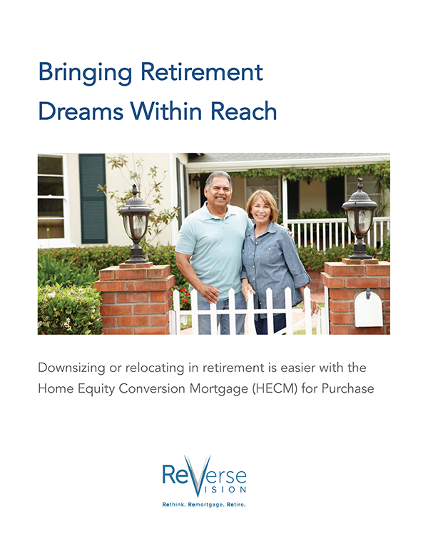 white paper about using a HECM loan to affordably downsize or relocate during retirement