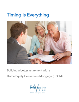 white paper explaining how to build a better retirement with Home equity conversion mortgages